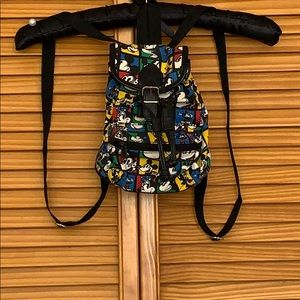"Disney Honey Fashions ""Mini"" Micky Mouse Backpack"